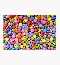 colorful candy smarties Photographic Print