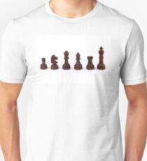 black chess pieces Unisex T-Shirt