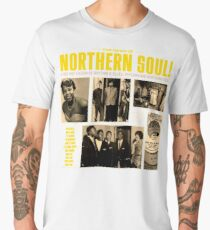 A Red Hot Fusion of Rythm and Blues, Popcorn and Northern Soul Men's Premium T-Shirt