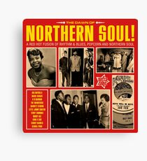 A Red Hot Fusion of Rythm and Blues, Popcorn and Northern Soul Canvas Print
