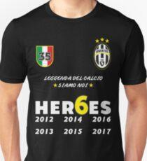 Juventus Heroes Campioni Unisex T-Shirt