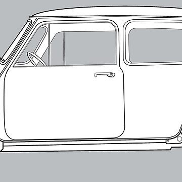 Morris Mini Cooper by thedrumstick