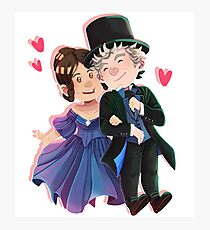 The Queen and the Doctor Photographic Print