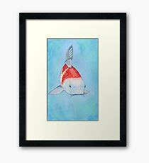 Koi Painting Framed Print