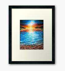Playful Light Framed Print