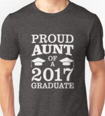 Proud Aunt Of 2017 Graduate Funny Graduation Unisex T-Shirt