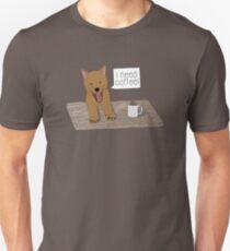I Need Coffee Doge Unisex T-Shirt