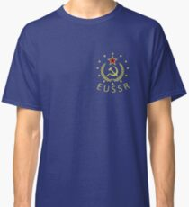 EUSSR - Anti EU Europen Union Exit Activist Protest USSR Vintage T-Shirts And gifts Classic T-Shirt