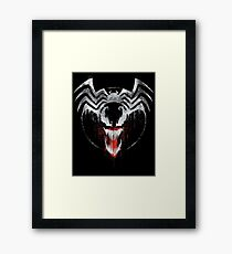Venom Graffiti  Framed Print