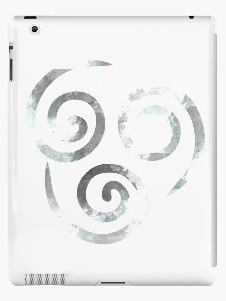 Watercolor Air Nomad Symbol Ipad Cases Skins By Timelesslord