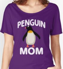 I Am A Penguin Mom Women's Relaxed Fit T-Shirt