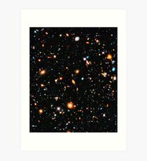 Hubble Extreme Deep Field Art Print