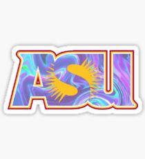 Arizona State Psychadellic  Sticker