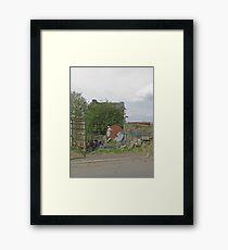 Abandoned shed Framed Print