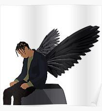 Travis Scott - Angel Poster