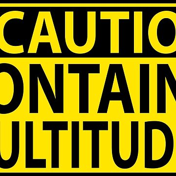 Caution: Contains Multitudes by ninthcircle