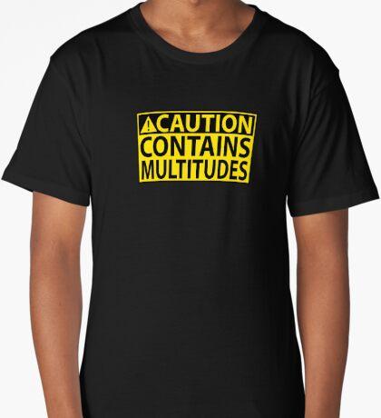 Caution: Contains Multitudes Long T-Shirt