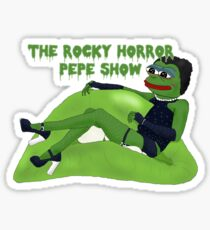 The Rocky Horror Pepe Show Sticker