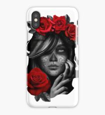 Day Of The Dead Woman iPhone Case/Skin