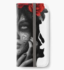 Day Of The Dead Woman iPhone Wallet/Case/Skin