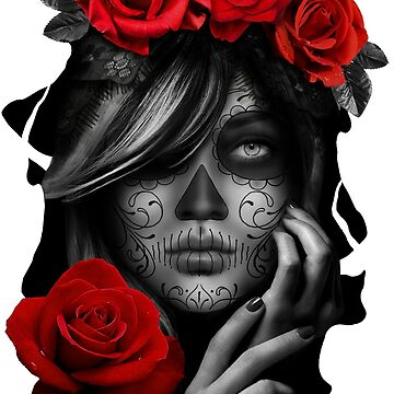 Day Of The Dead Woman by CharliFaure