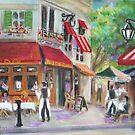 """Gay Paree"" Cafe  by Woodie"