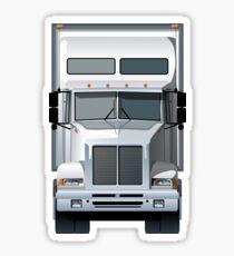 Semi Truck Sticker