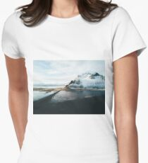 Iceland from above - Landscape Photography Women's Fitted T-Shirt