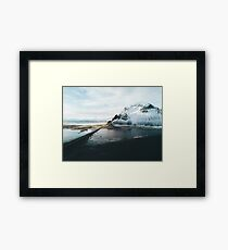 Iceland from above - Landscape Photography Framed Print
