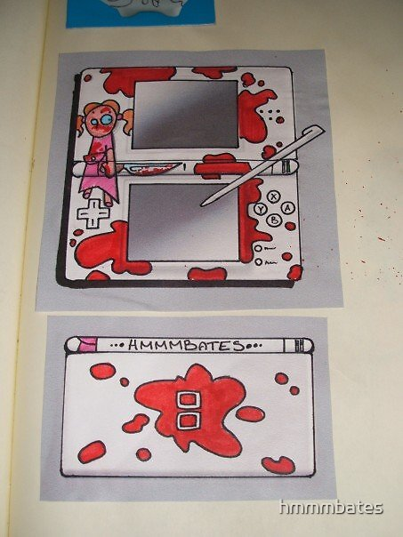 cut girl design for ds not yet in the shops by hmmmbates