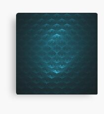 Squirtle Shell  | Fractal Art Canvas Print