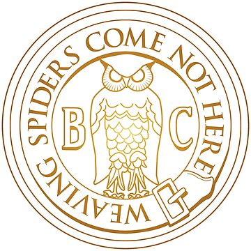 Bohemian Grove Owl - Golden by thedrumstick