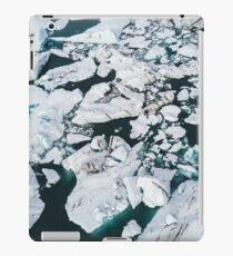 Glacier Lagoon in Iceland - Landscape Photography iPad Case/Skin