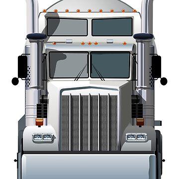 Semi Truck by Mechanick