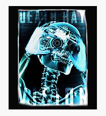 Skeleton, Death Ray Vision, Photographic Print