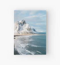 Iceland beach at sunset - Landscape Photography Hardcover Journal