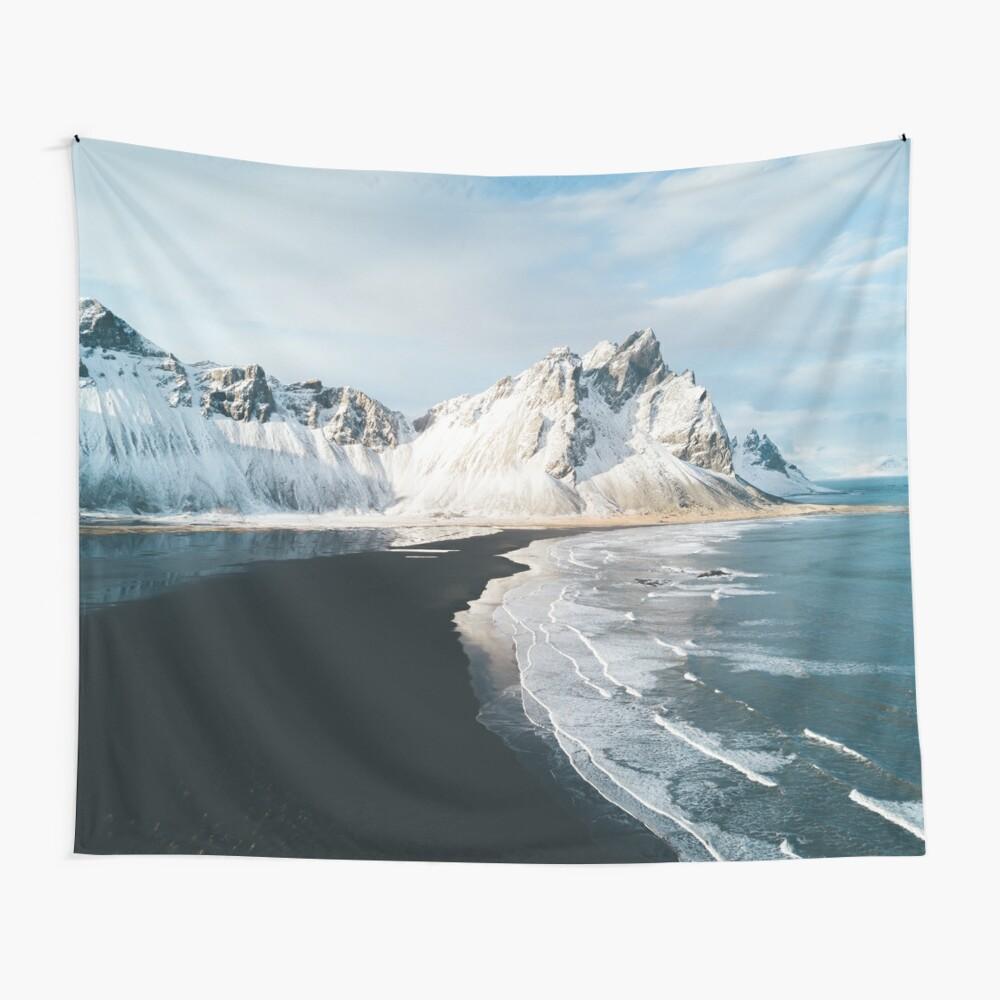 Island Beach bei Sonnenuntergang - Landschaftsfotografie Wandbehang