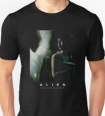 Alien Covenant scary face Unisex T-Shirt