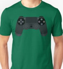 Video Game Inspired Console Playstation 4 Dualshock Gamepad Unisex T-Shirt