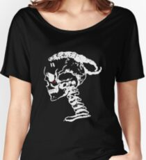 XXXTENTACION - SKULL [WHITE DESIGN] Women's Relaxed Fit T-Shirt