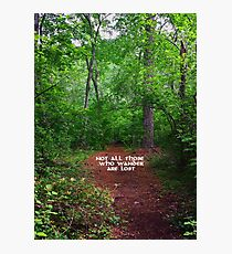 Wander Forest Clearing Photographic Print