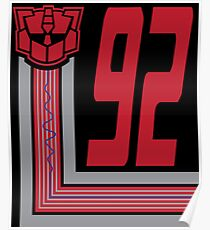 Transformers Autobots 92 Poster