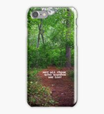 Wander Forest Clearing iPhone Case/Skin