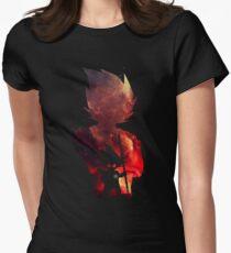 evolution saiyan Womens Fitted T-Shirt