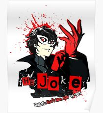 Joker - Persona 5 Poster