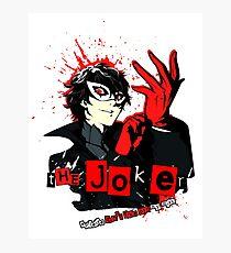 Joker - Persona 5 Photographic Print