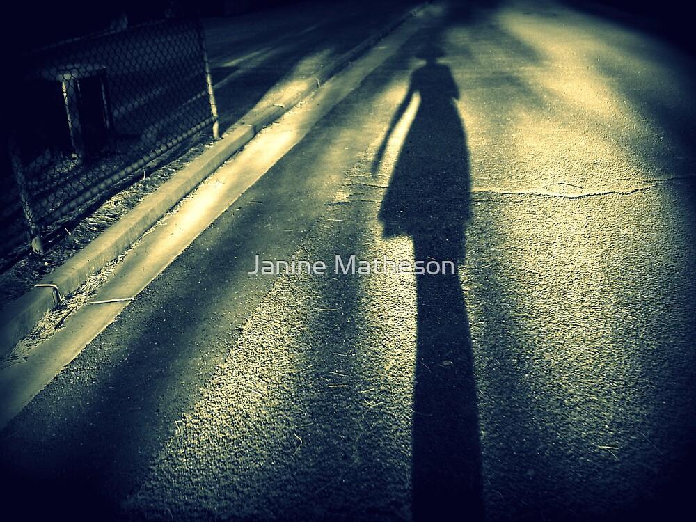 walking alone by Janine Matheson