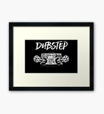 Dubstep Radio Machine Gun Framed Print