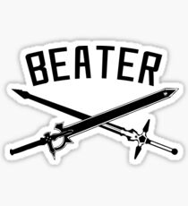 SAO Beater Sticker