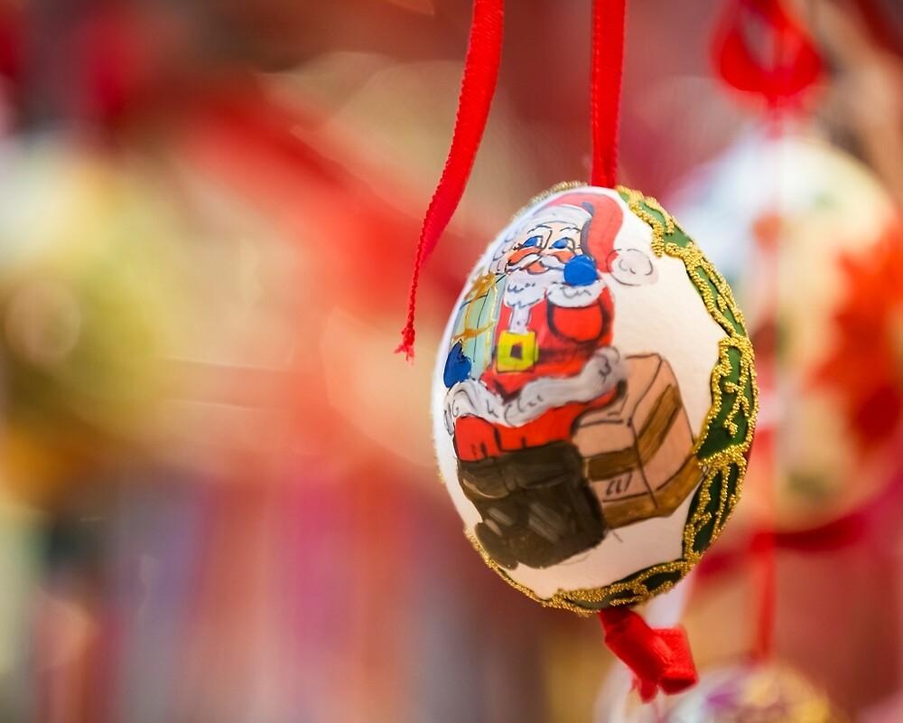 Christmas handmade egg by JuanCarranza